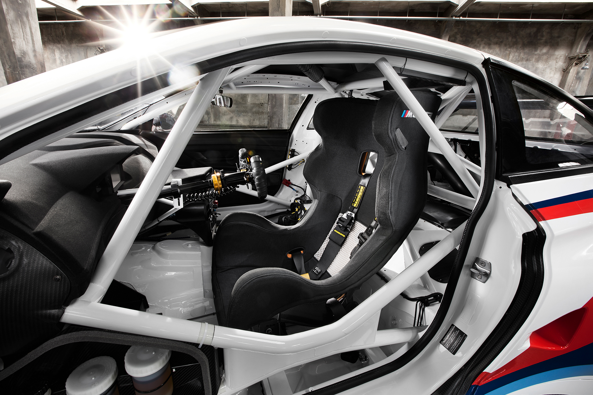 BMW M6 GT3 - 2016 - racing seat / siège