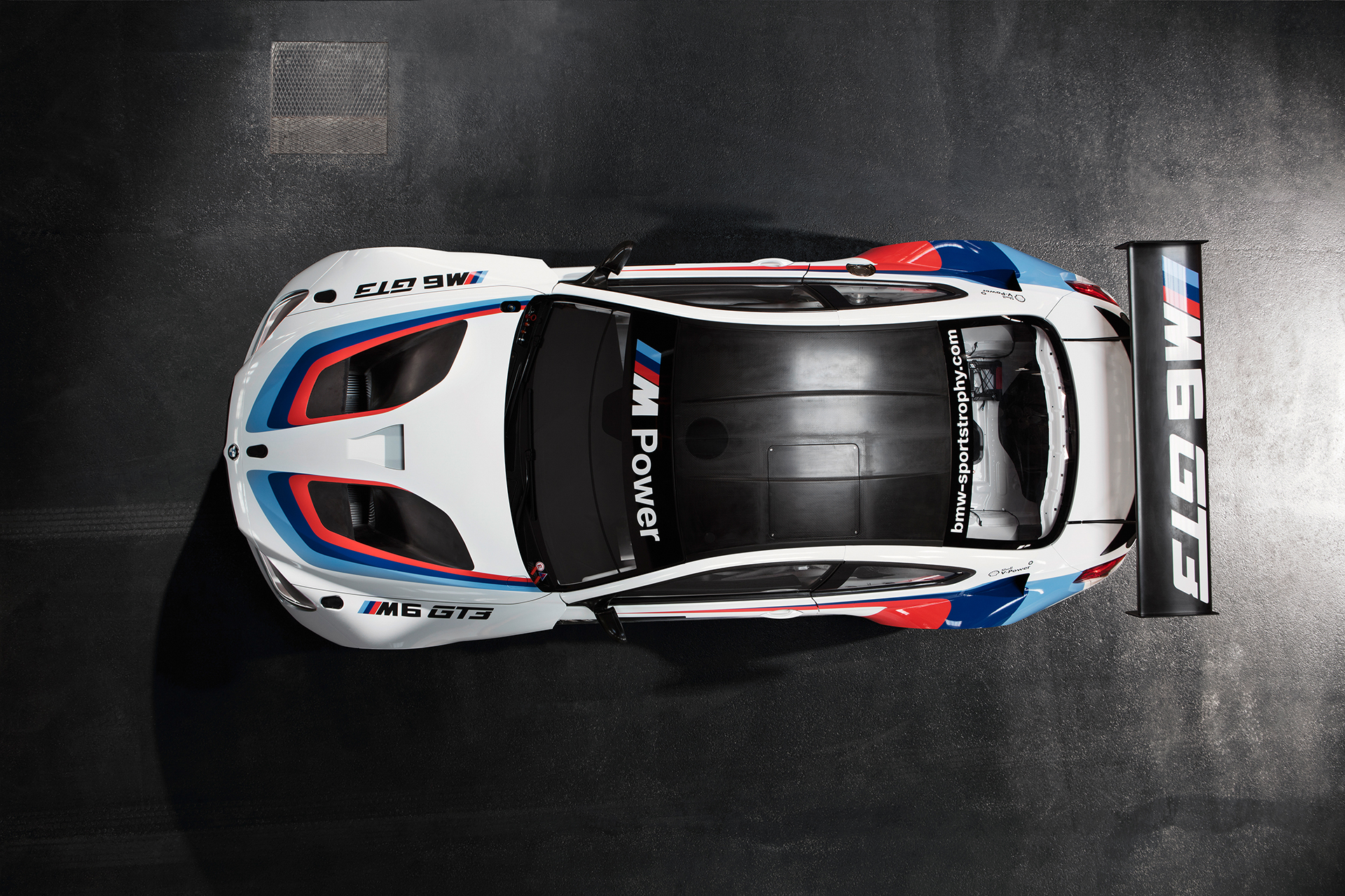 BMW M6 GT3 - 2016 - top / toit