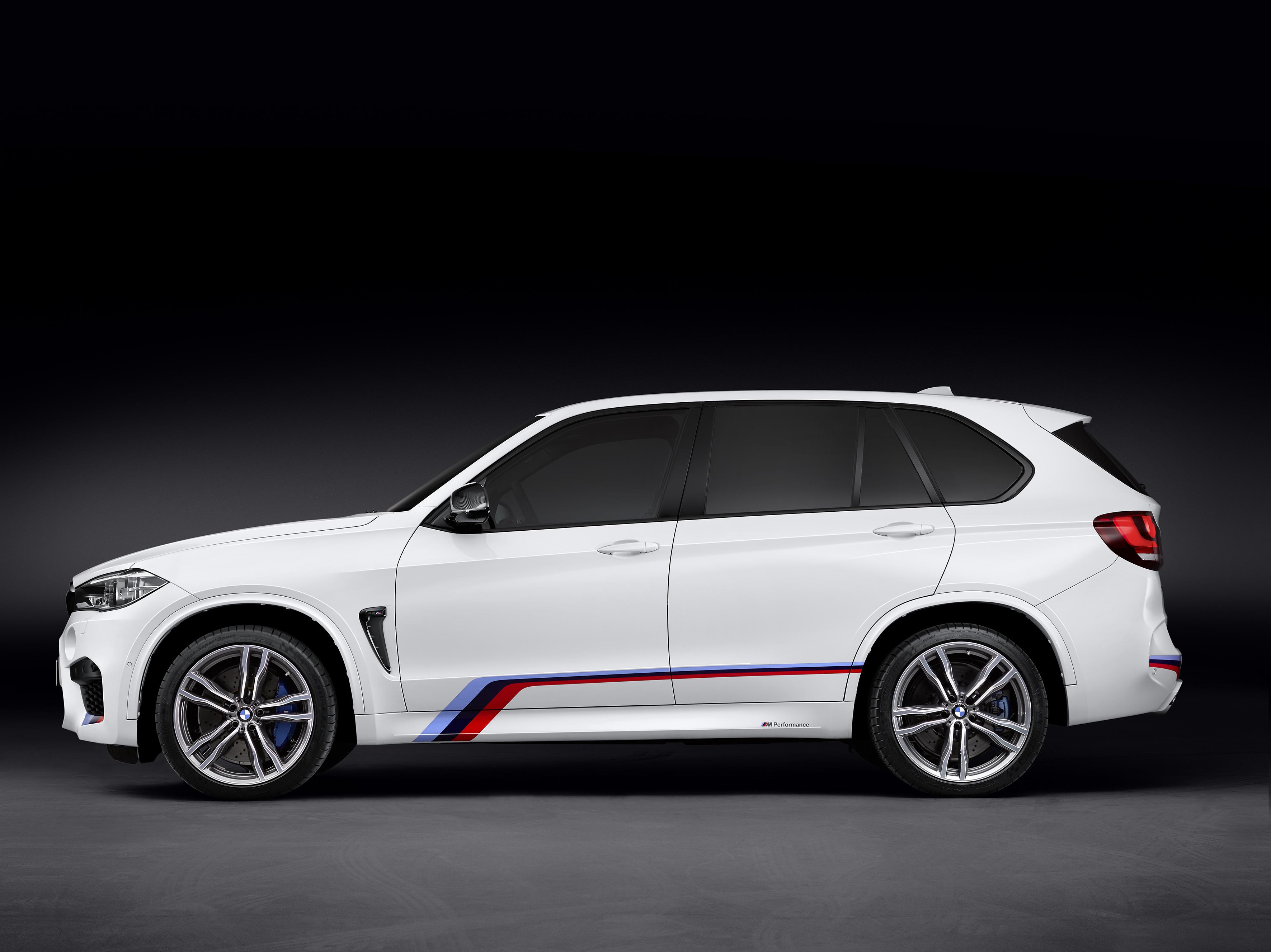 BMW X5 M - profil