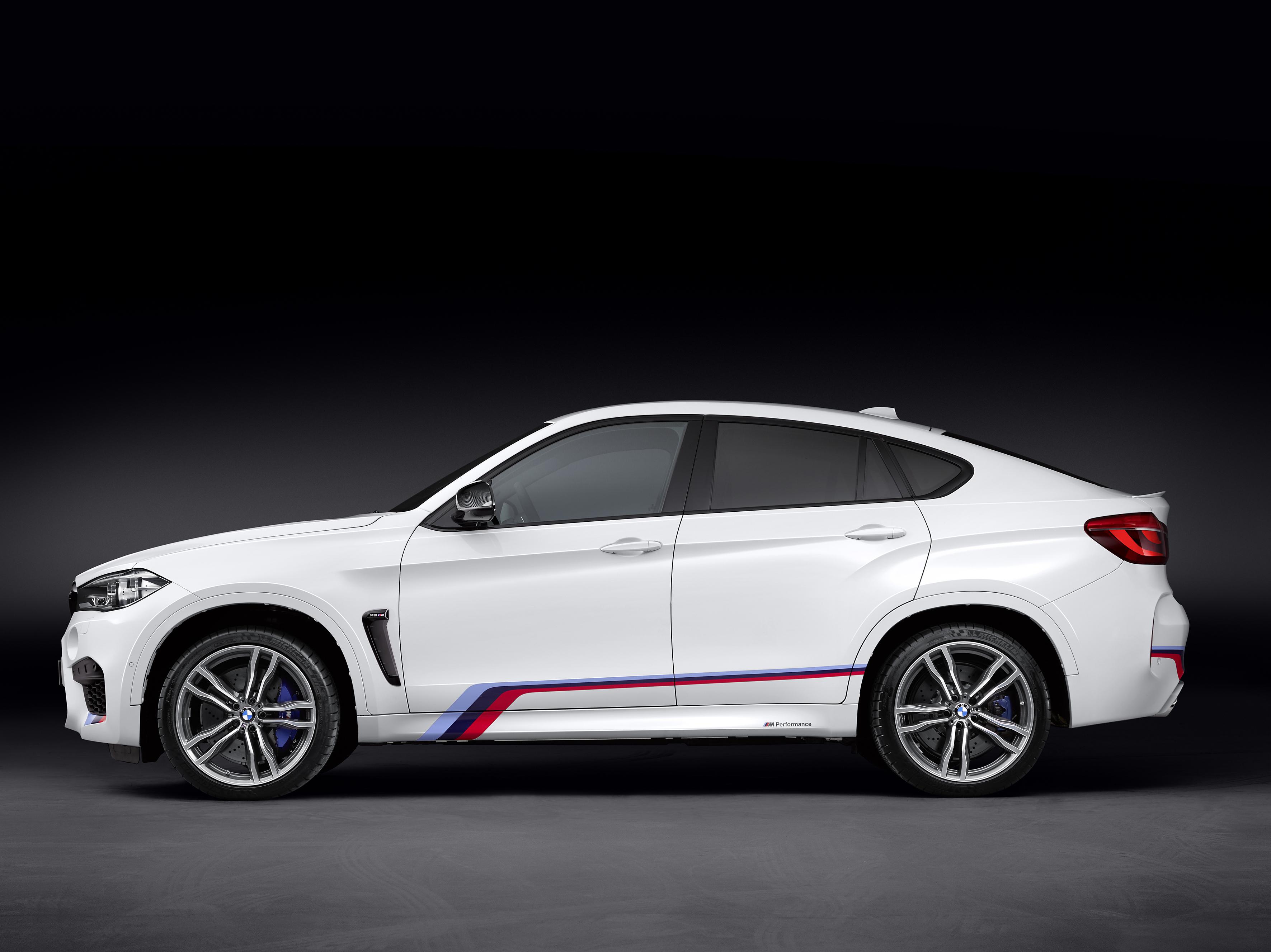 BMW X6 M - profil