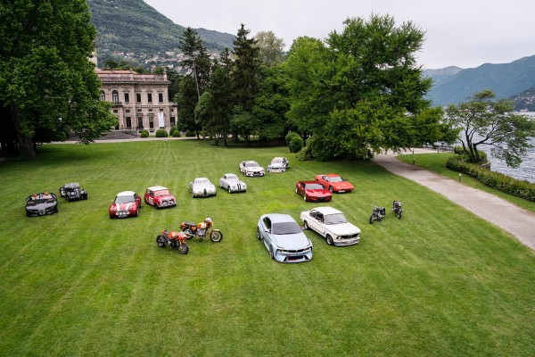 BMW Group - hommage-Villa d'Este -2016 - photo - top view