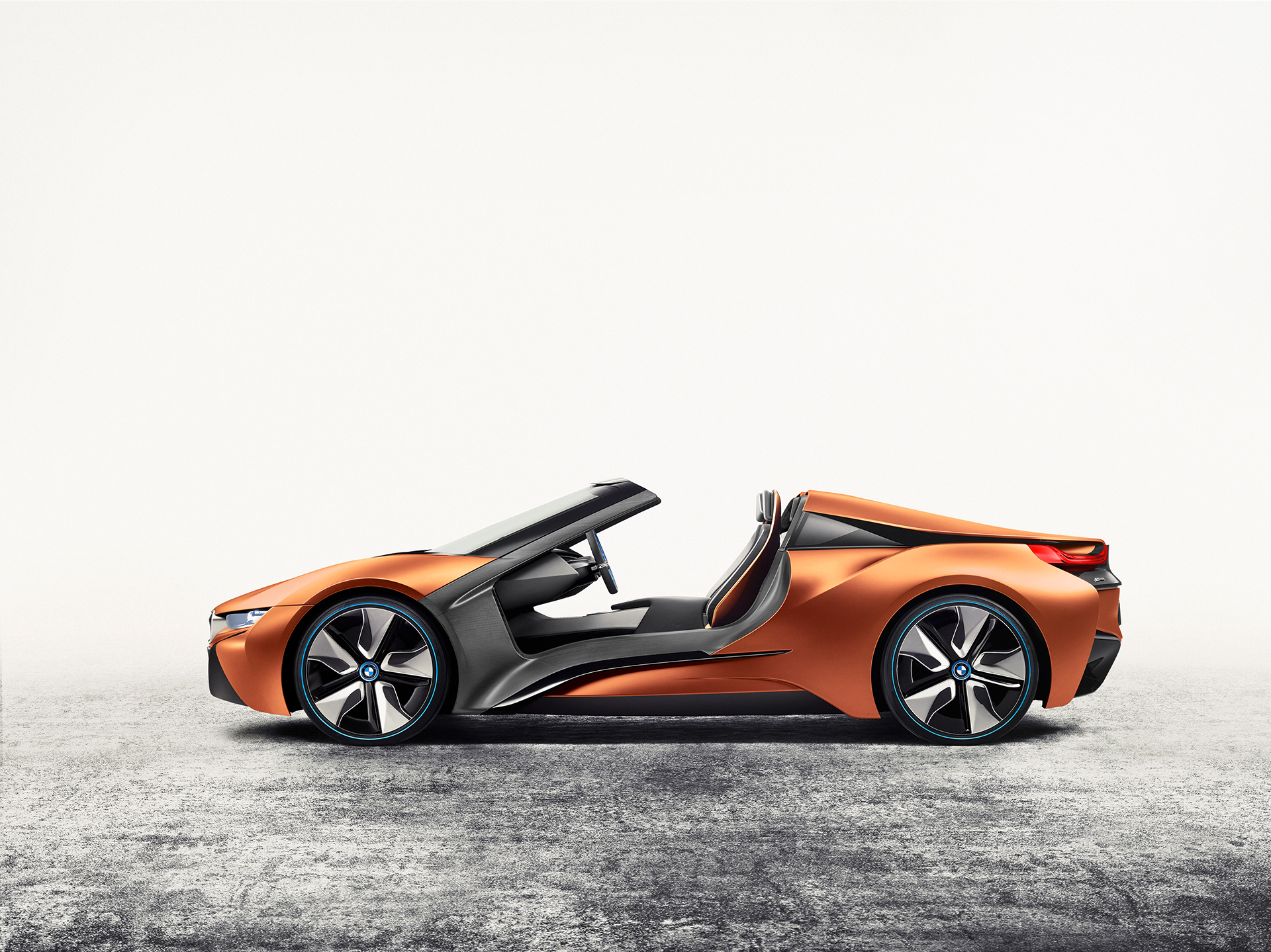 BMW i Vision Future Interaction – Concept Car - CES 2016 - side-face / profil