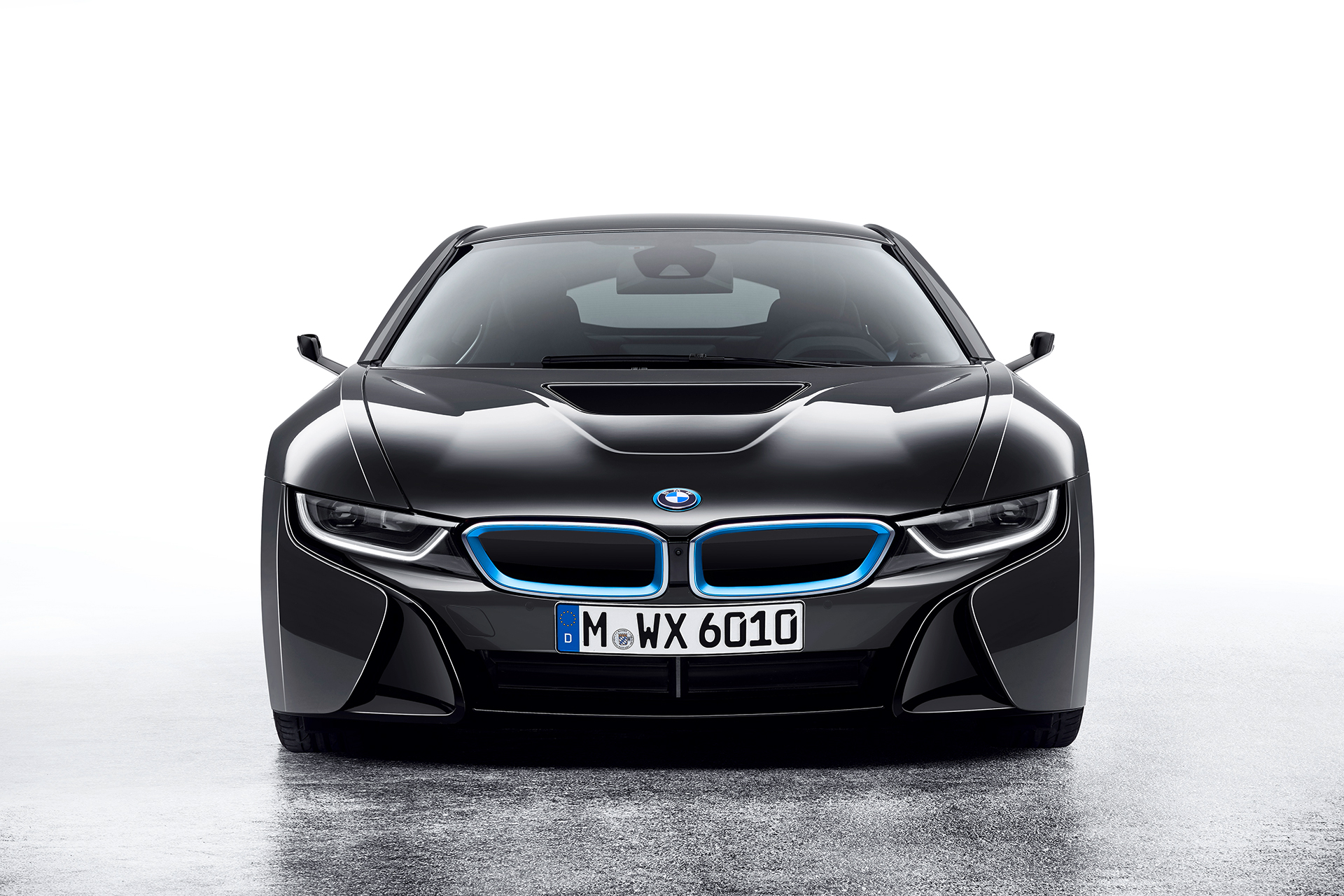 BMW i8 Mirrorless - 2016 - front / avant