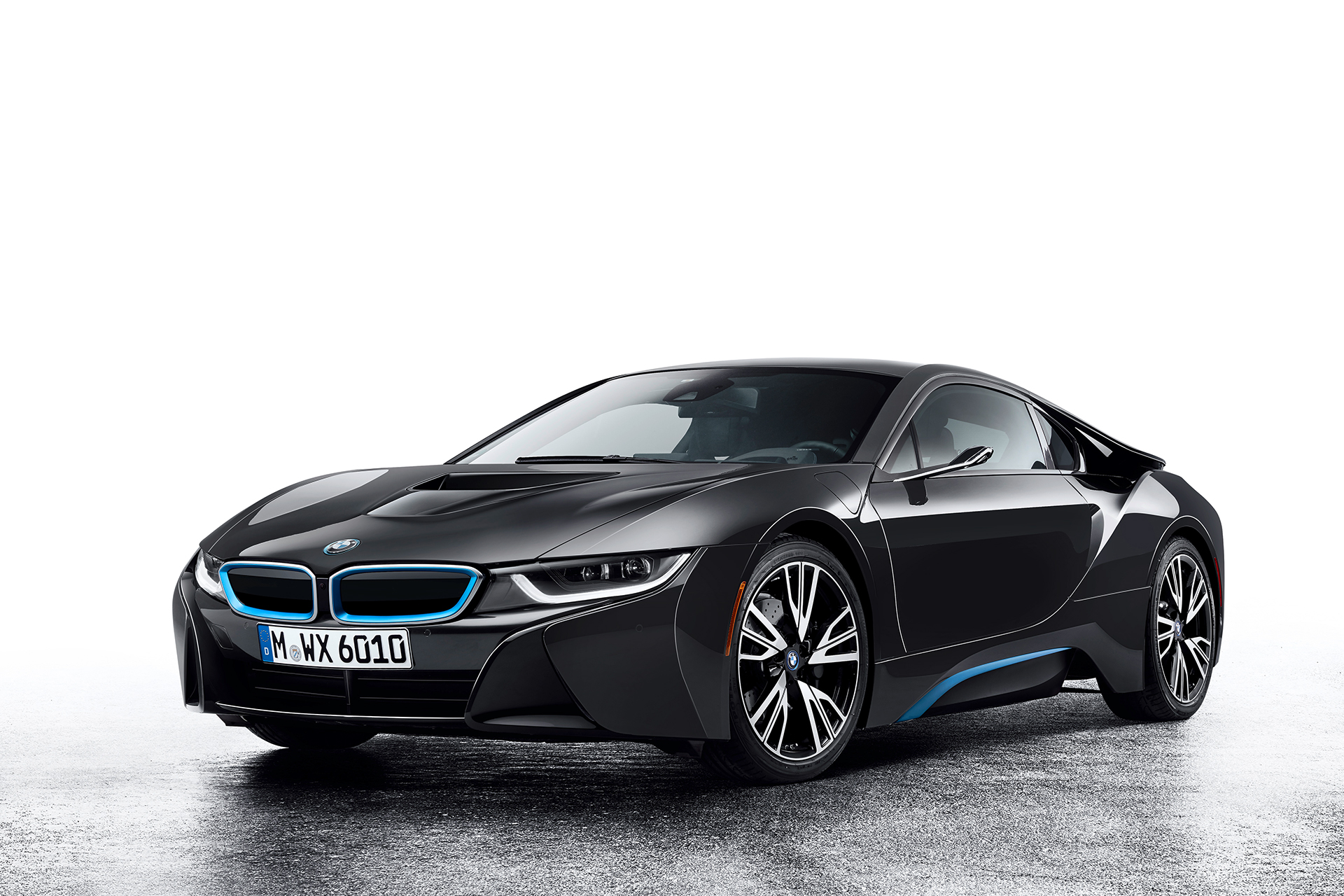BMW i8 Mirrorless - front side-face / profil avant