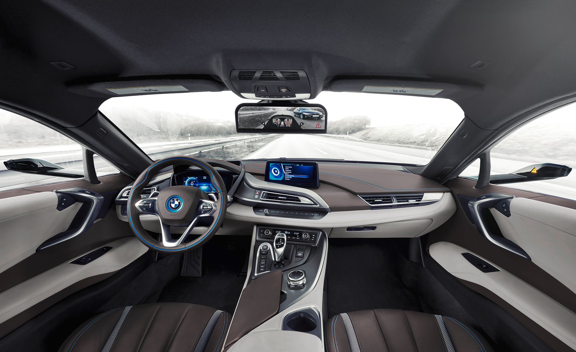 BMW i8 Mirrorless - 2016 - interior / interieur