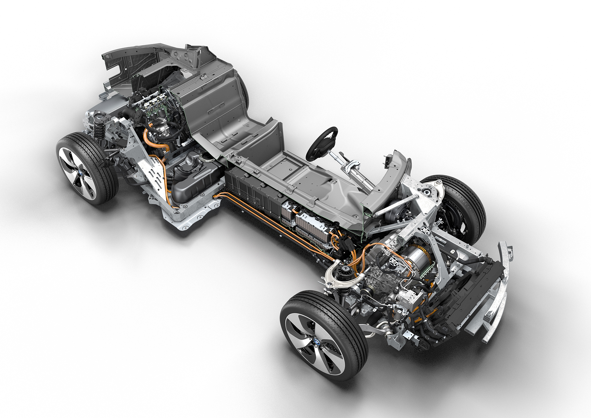 BMW i8 - powertrain