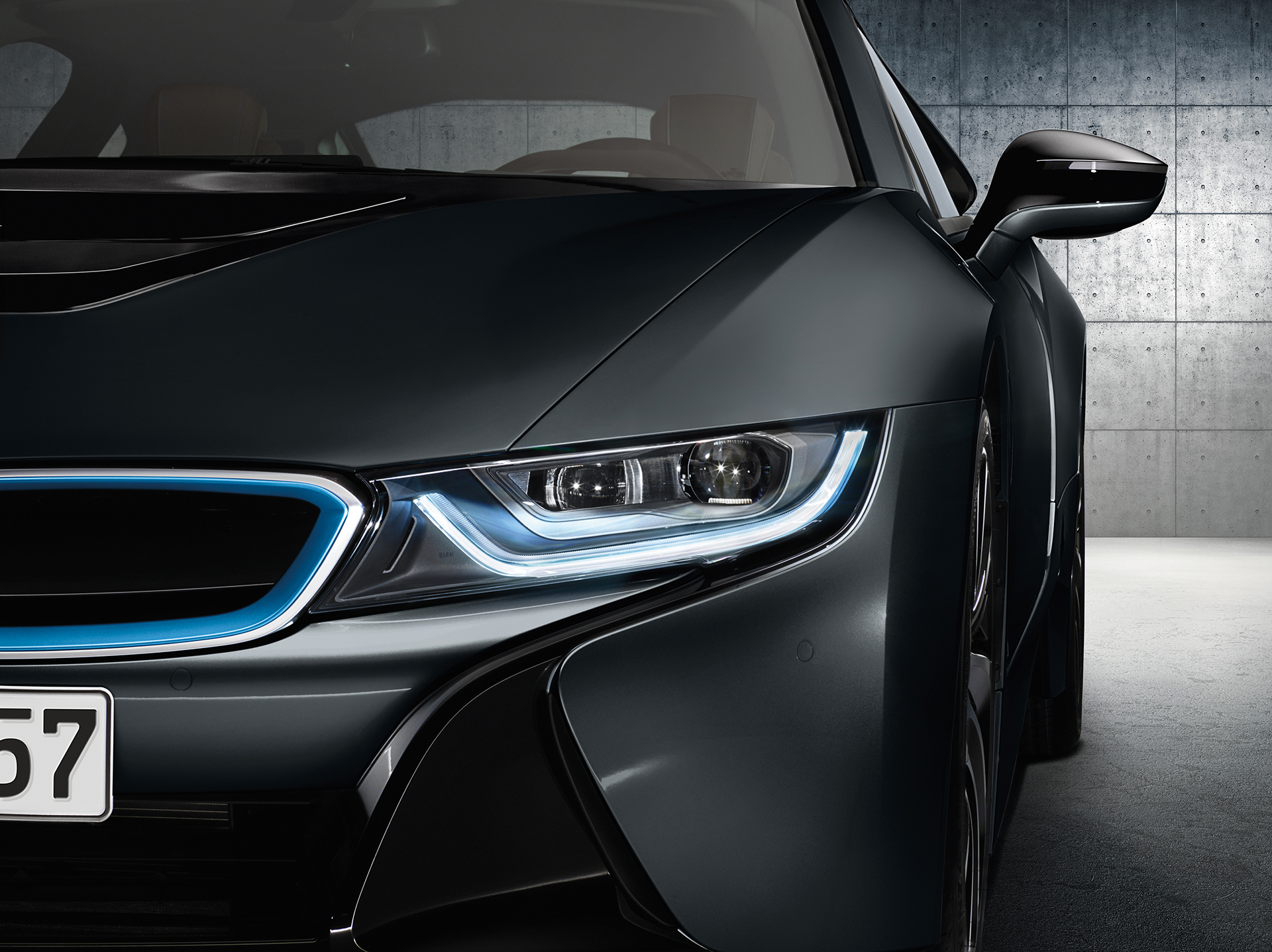 BMW i8 - front light / optique avant