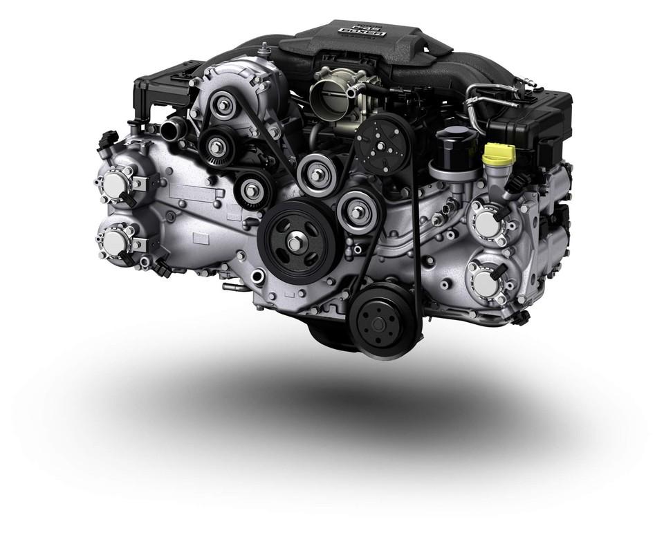 Subaru BRZ - Boxer engine / moteur Boxer
