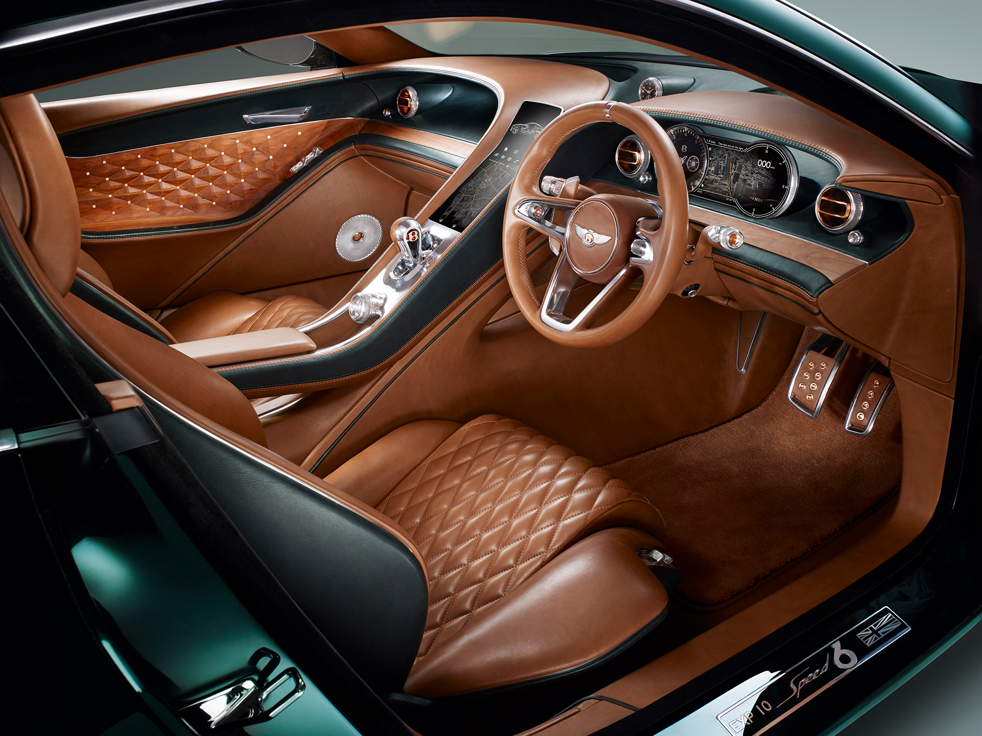 Bentley EXP 10 Speed 6 - intérieur