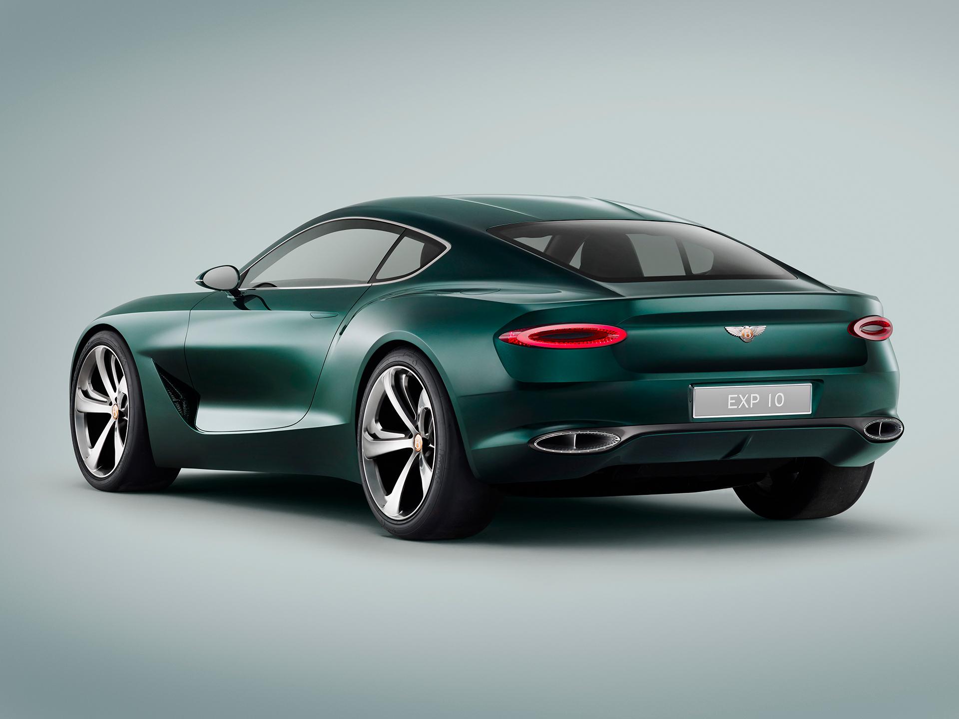 Bentley EXP 10 Speed 6 - profil arrière