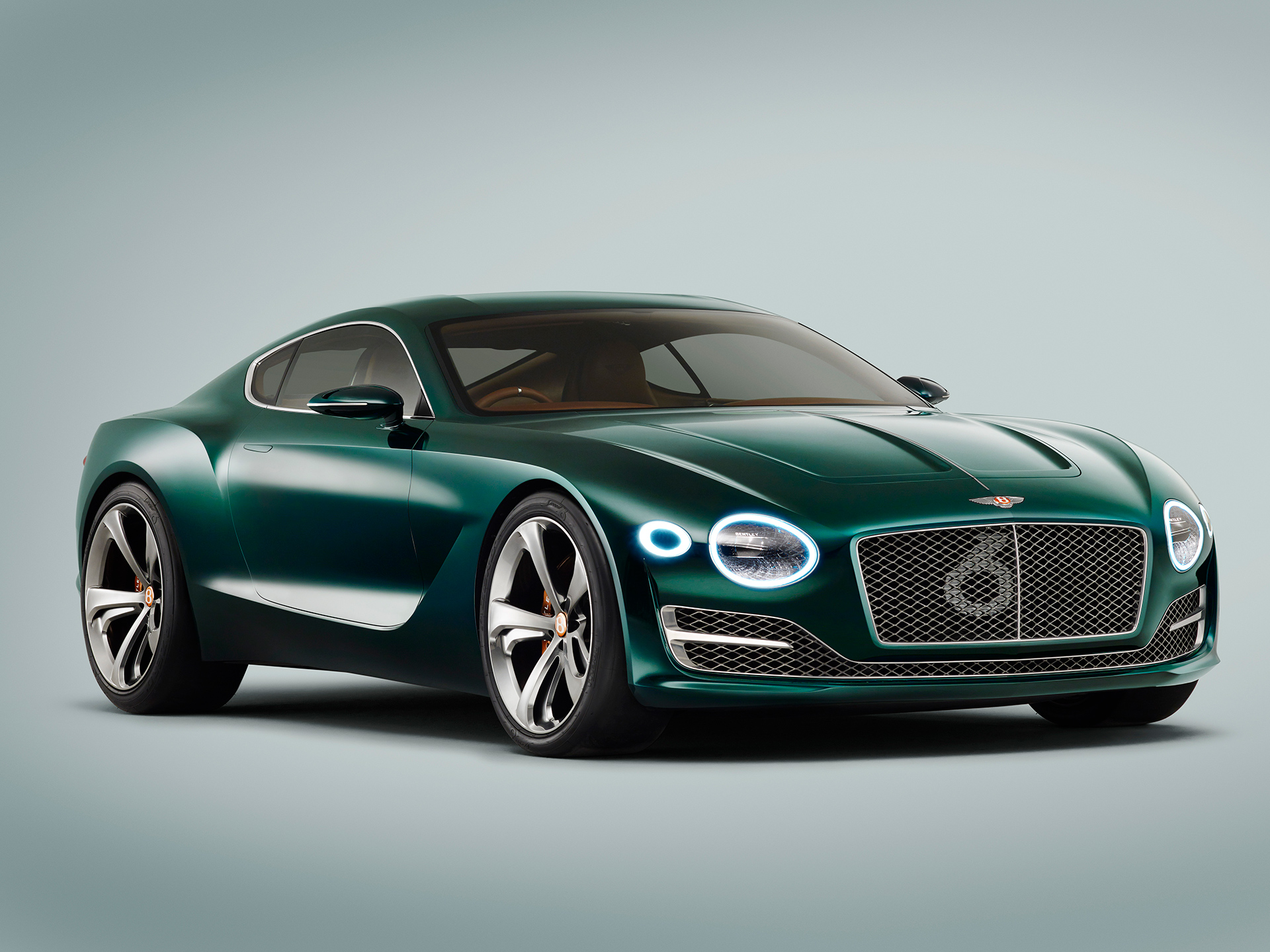 Bentley EXP 10 Speed 6 - profil avant
