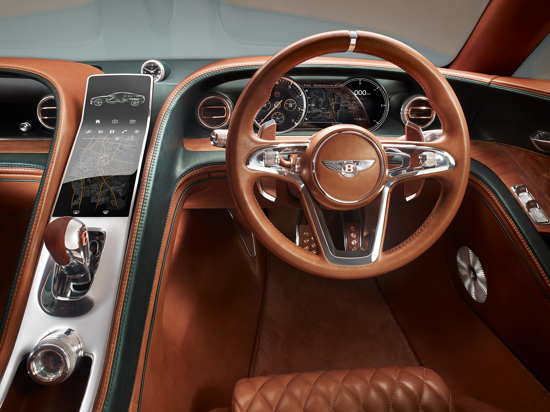 Bentley EXP 10 Speed 6 - volant