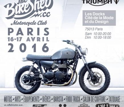 bike shed motorcycle club salon de la moto n o r tro paris. Black Bedroom Furniture Sets. Home Design Ideas