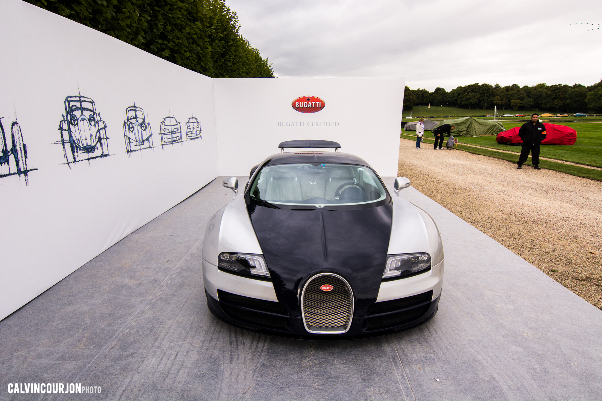 Bugatti Veyron - Chantilly 2015 – photo Calvin Courjon