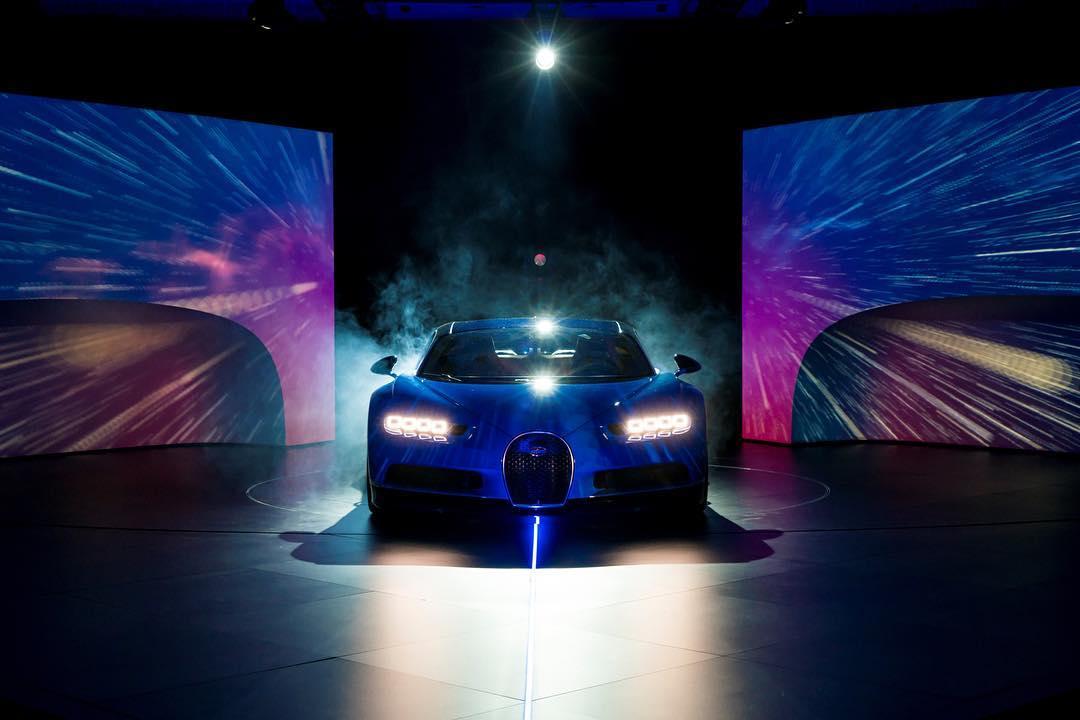 Bugatti Chiron - 2016 - cover