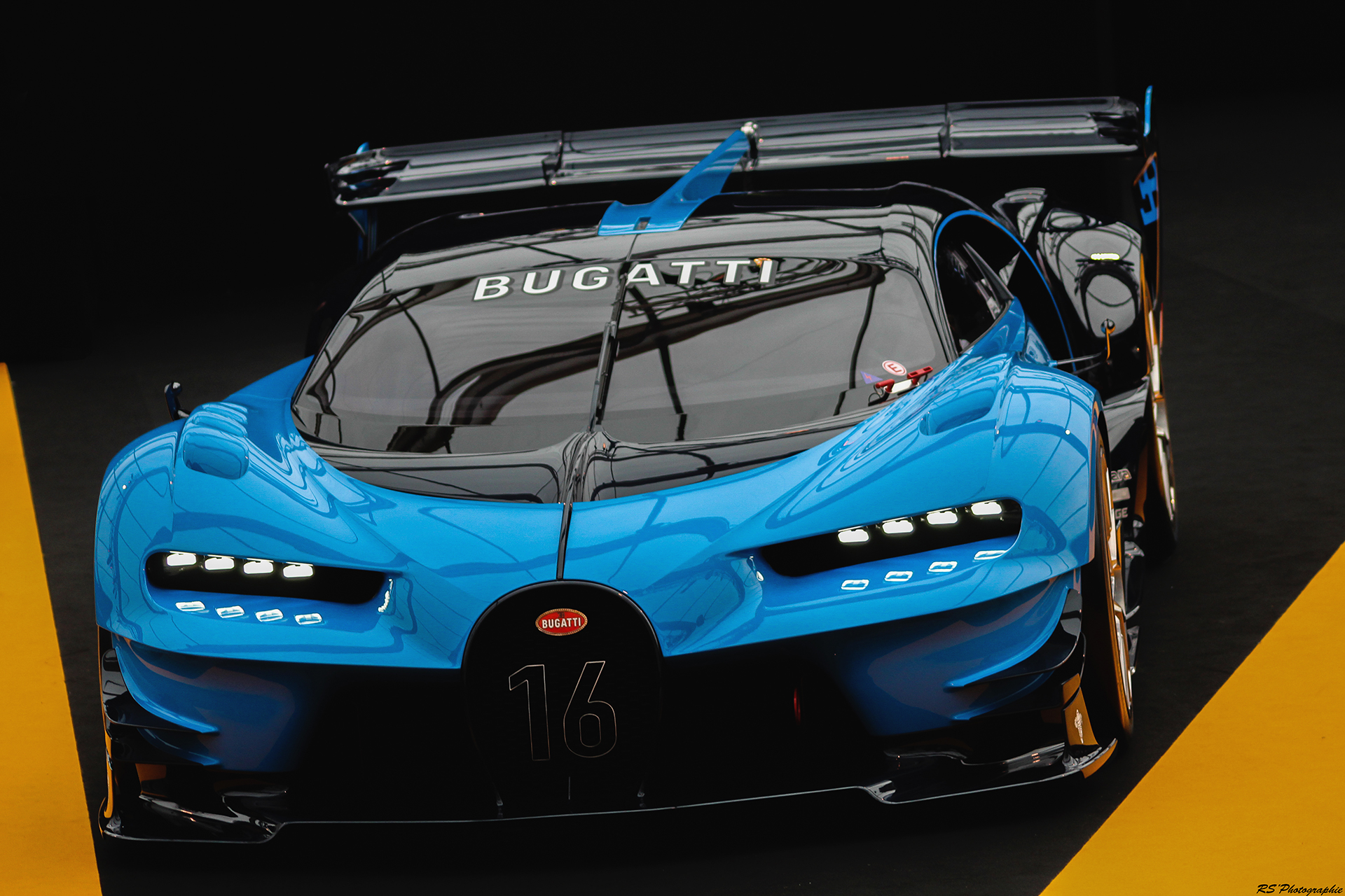 Bugatti Vision Gran Turismo - Exposition Concept cars 2016 - Arnaud Demasier RS Photographie