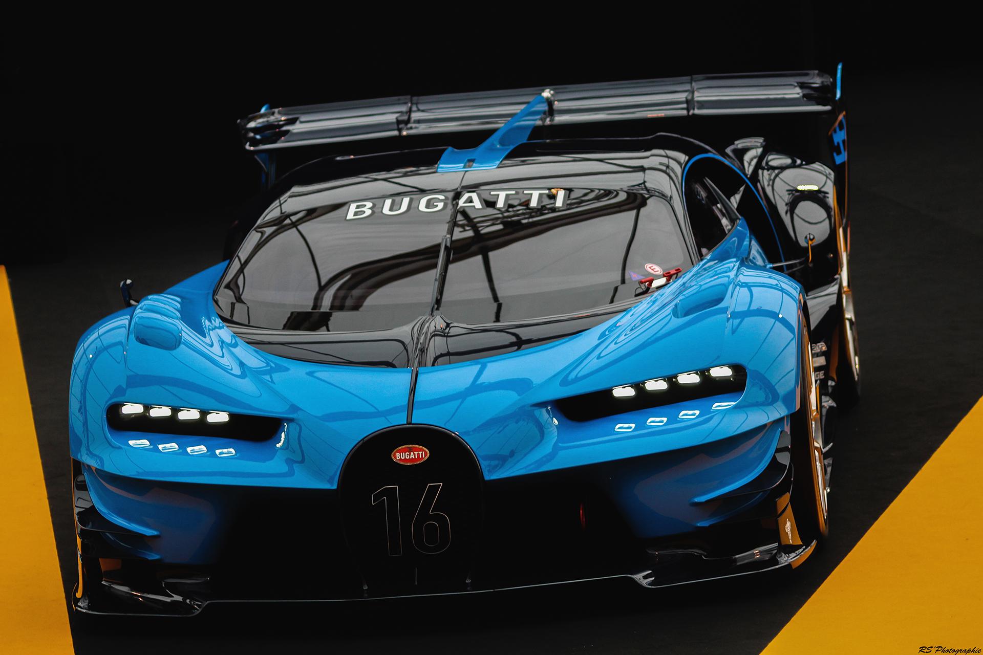 Bugatti Vision Gran Turismo - Exposition Concept cars 2016 - Arnaud Demasier RS Photographie