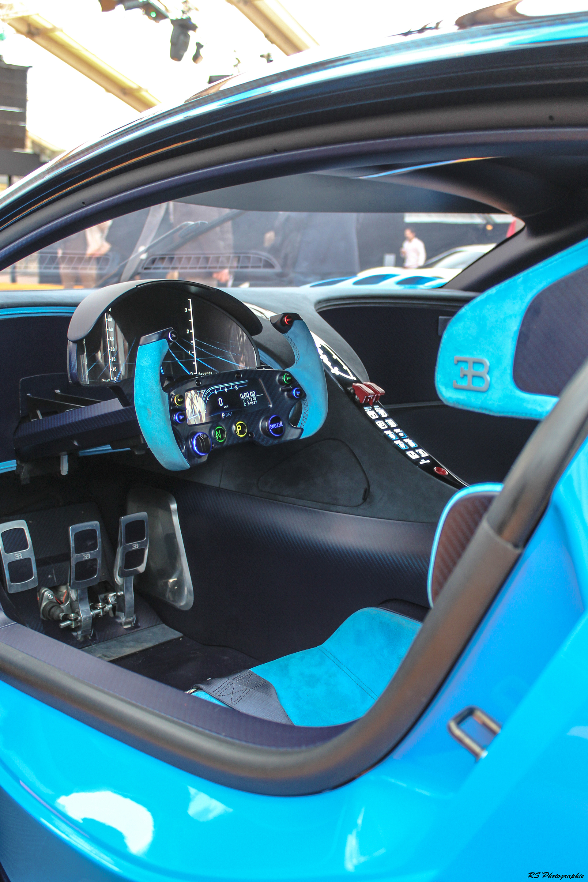 Bugatti Vision Gran Turismo - intérieur / interior - Exposition Concept cars 2016 - Arnaud Demasier RS Photographie