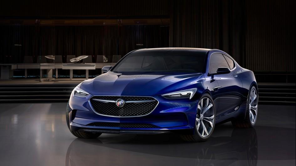 Buick Avista concept - 2016 - front / avant - General Motors