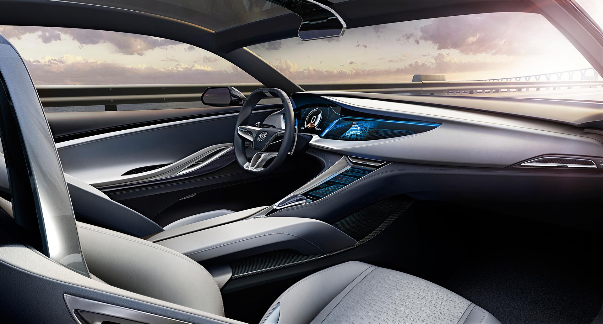 Buick Avista concept - 2016 - interior / intérieur - General Motors