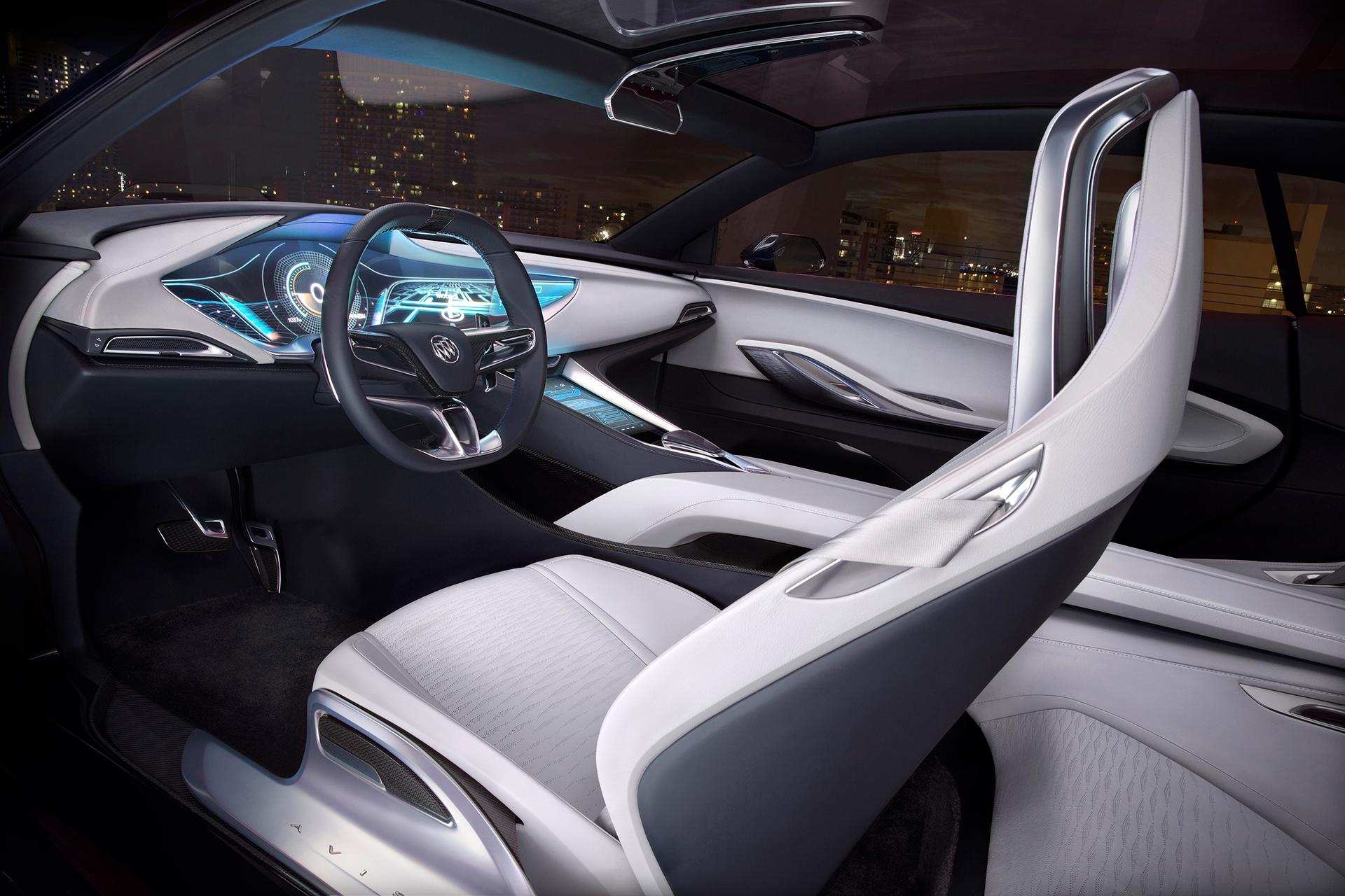 Buick Avista concept - 2016 - drive wheel / volant - General Motors