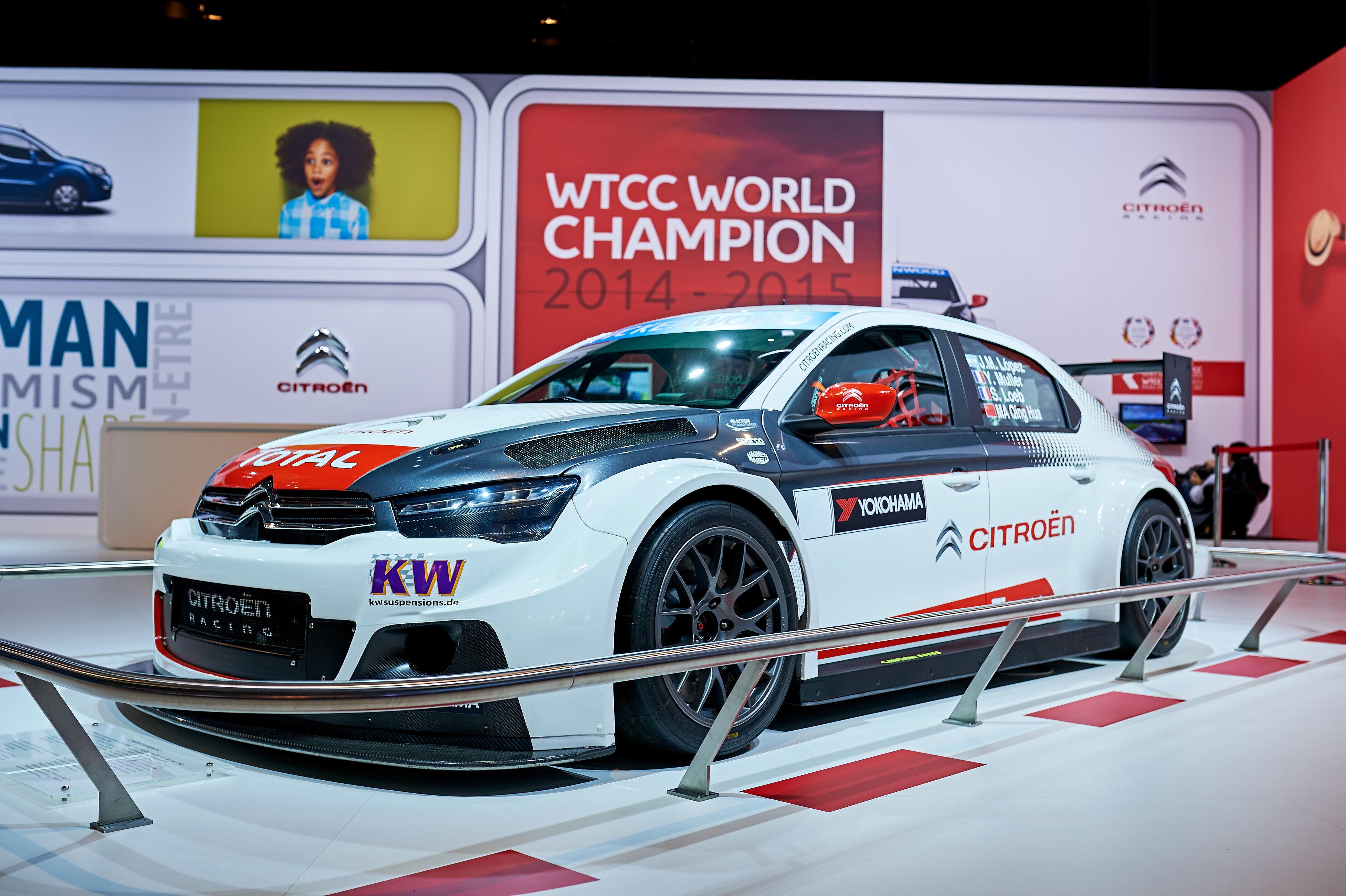 C-Elysee WTCC - European Motorshow-Brussels 2016
