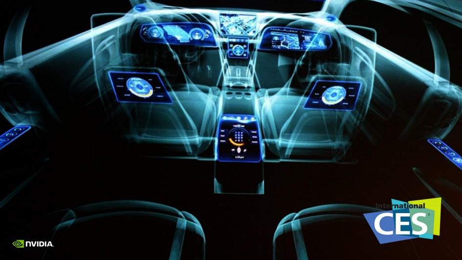 CES 2015 - NVIDIA Drive