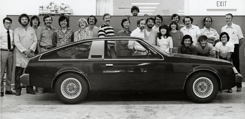 Calty Design Research 1978 Celica Team