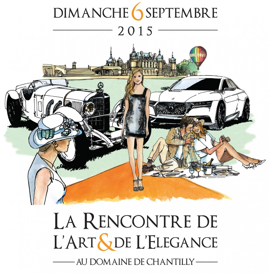 Chantilly Arts & Elegance 2015 - cover