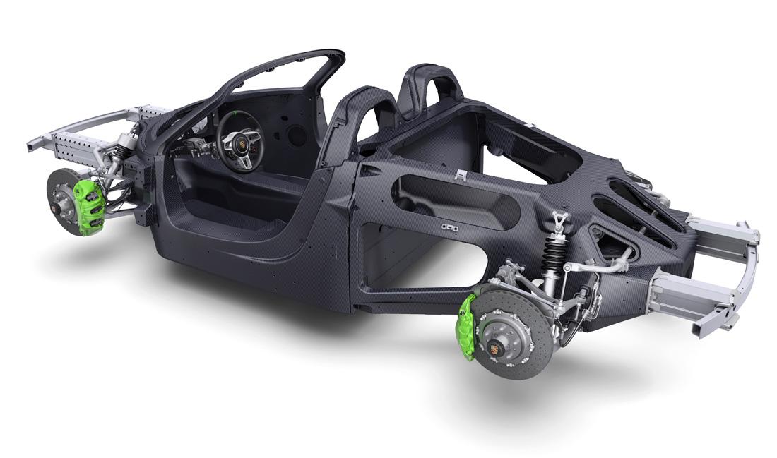 Châssis Porsche 918 Spyder