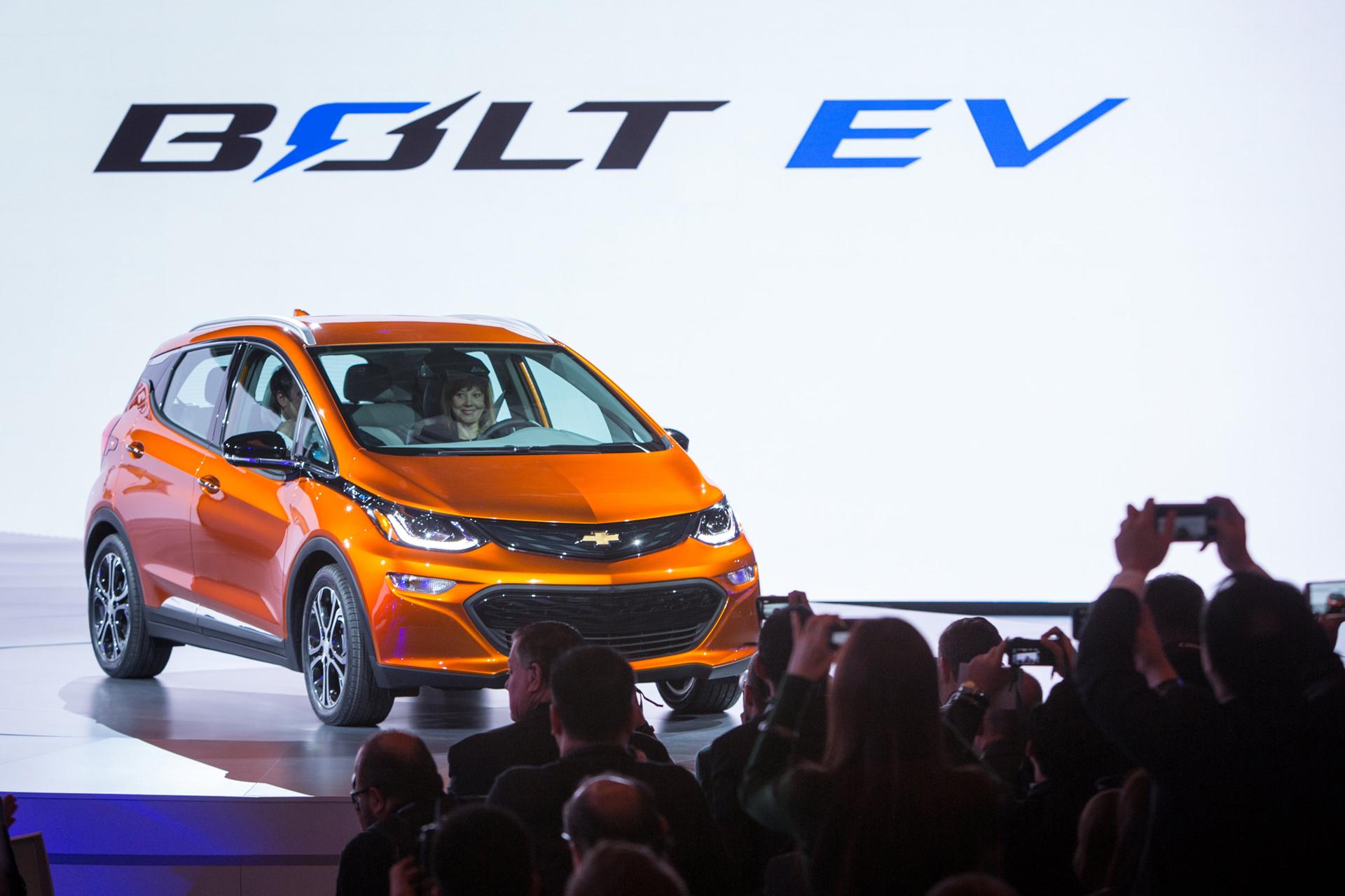 Chevrolet Bolt EV - 2016 - NAIAS - General Motors