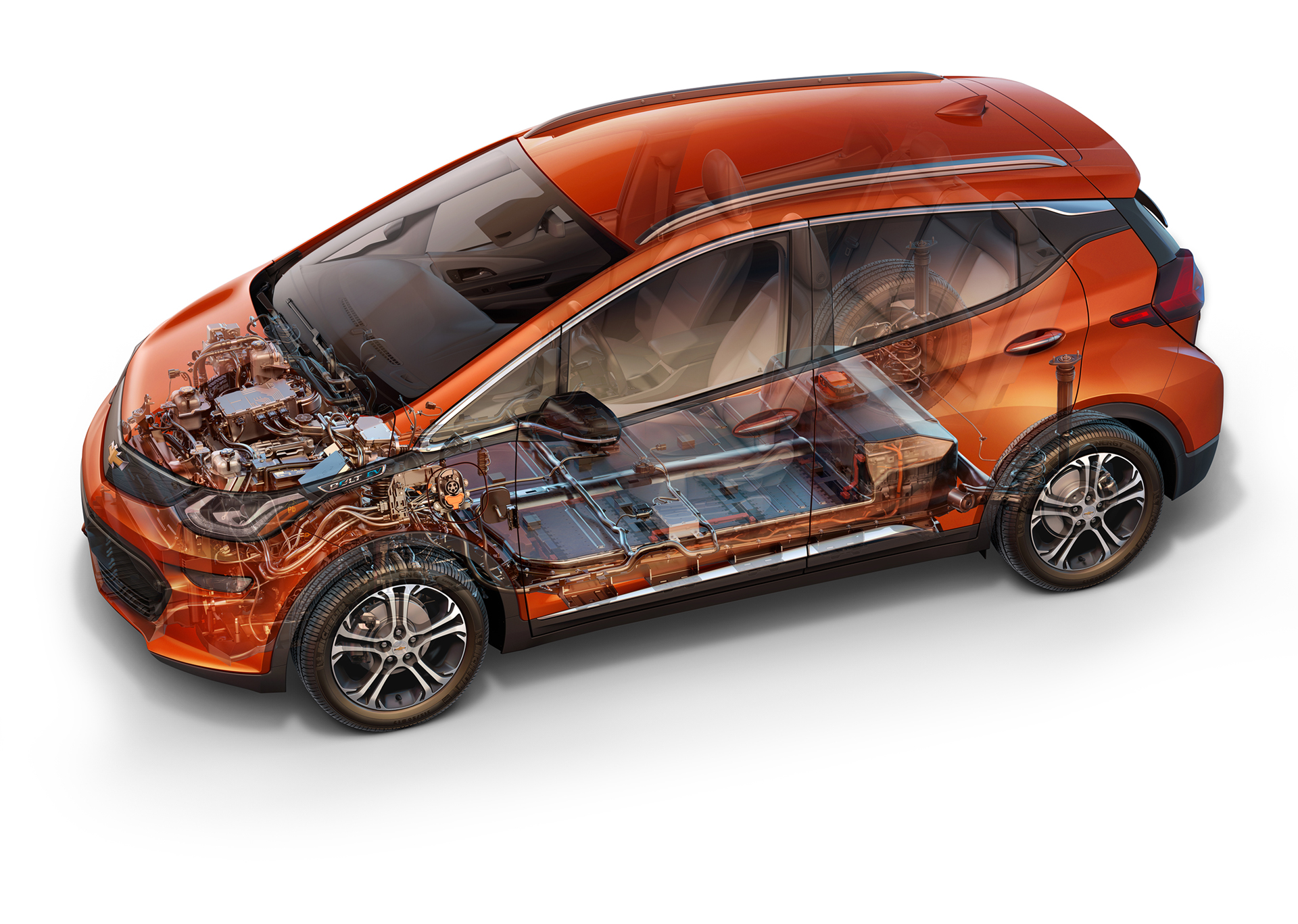 Chevrolet Bolt EV - 2016 - design mechanics - General Motors