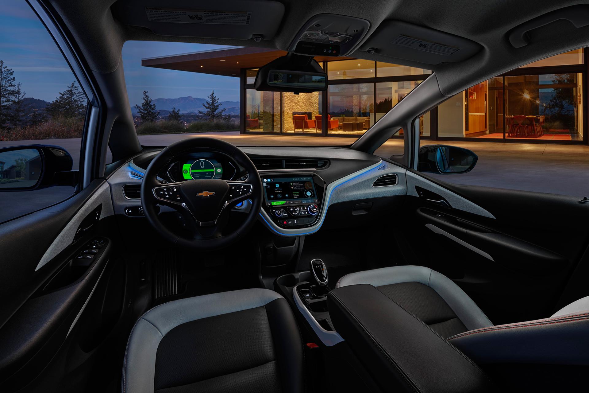 Chevrolet Bolt EV - 2016 - interior / intérieur - General Motors