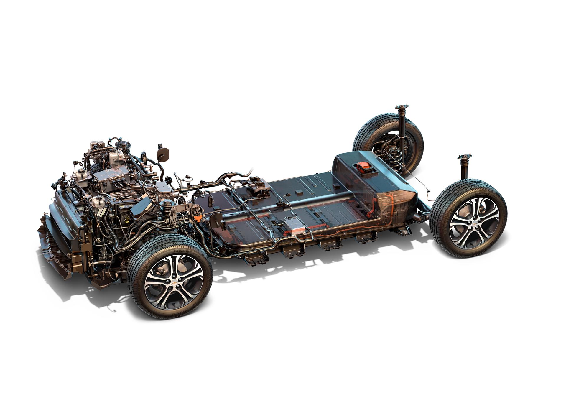 Chevrolet Bolt EV - 2016 - powertrain - General Motors