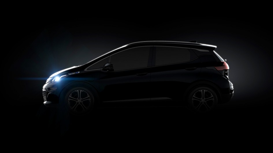 Chevrolet Bolt EV - 2016 - side-face / profil - General Motors