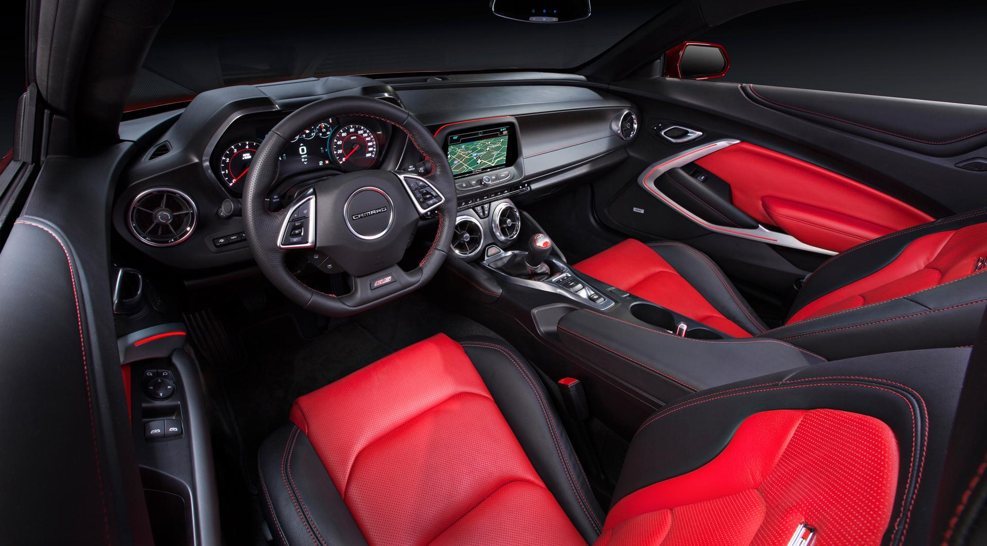 Chevrolet 2016 Camaro SS - intérieur / interior