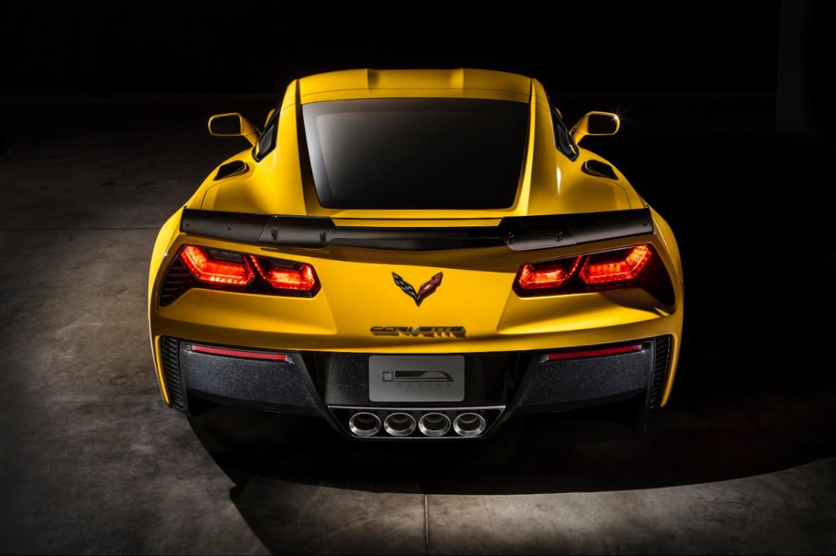 Arrière - Chevrolet Corvette Z06
