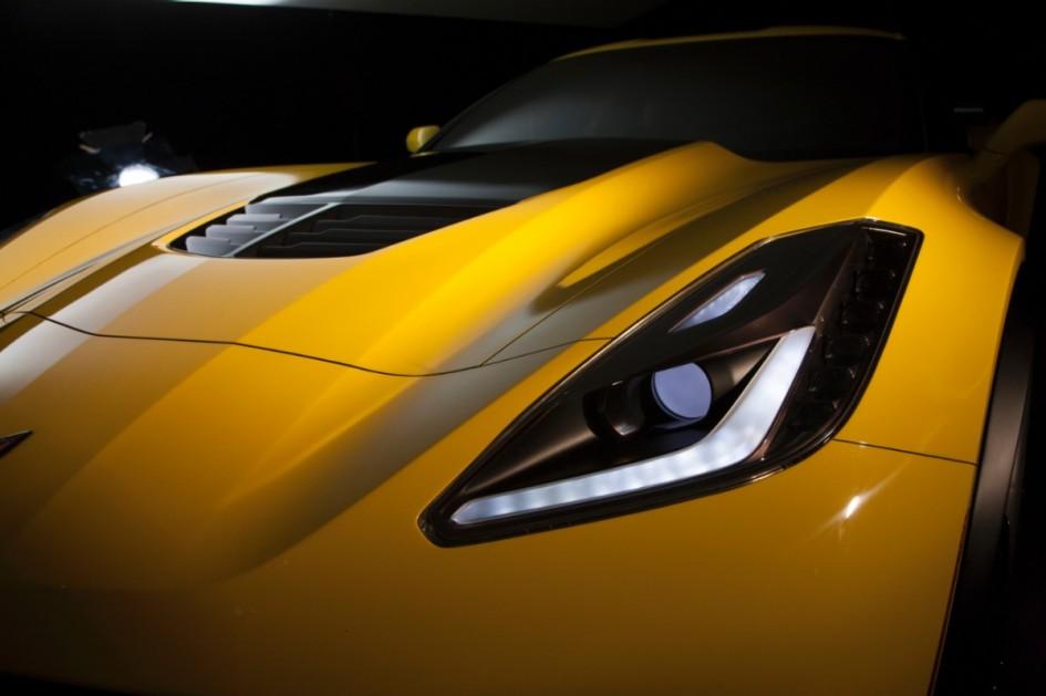 Avant - Chevrolet Corvette Z06