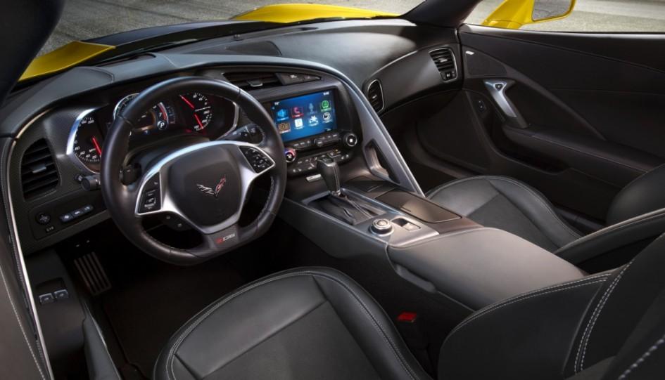 Intérieur - Chevrolet Corvette Z06