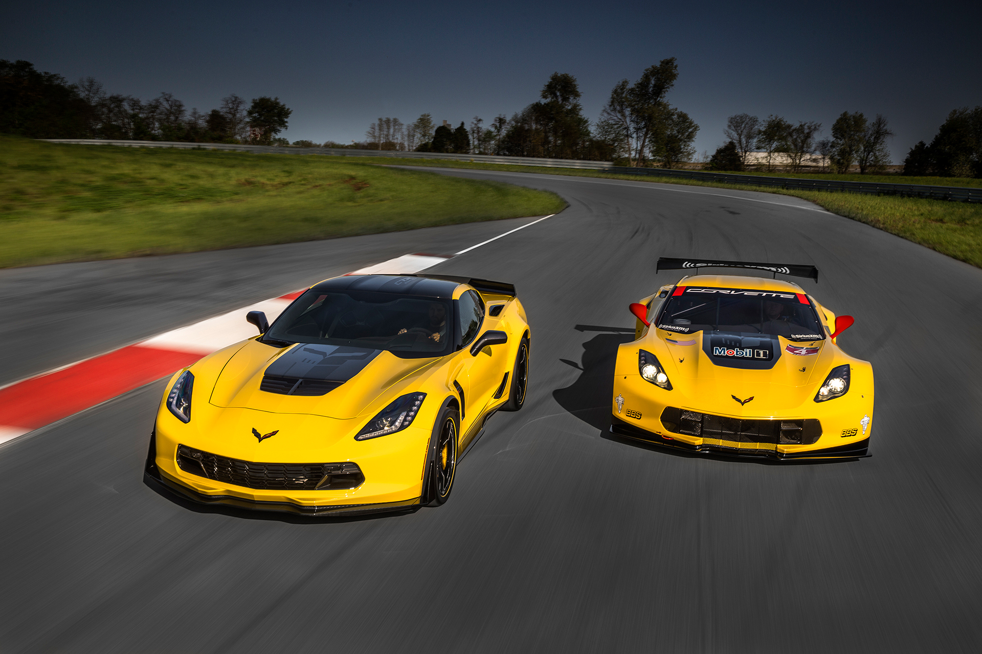 Chevrolet Corvette Z06 2016 C7.R Edition - avant / front - General Motors