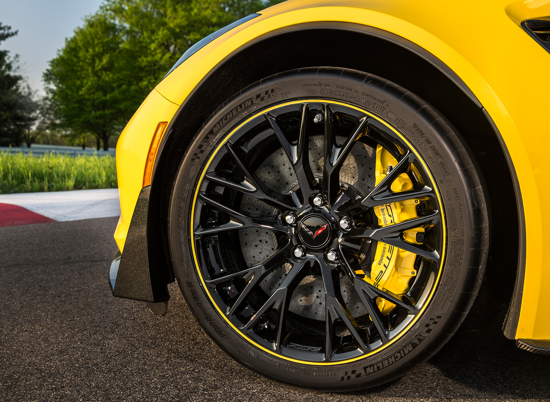 Chevrolet Corvette Z06 2016 C7.R Edition - jante / wheel - General Motors