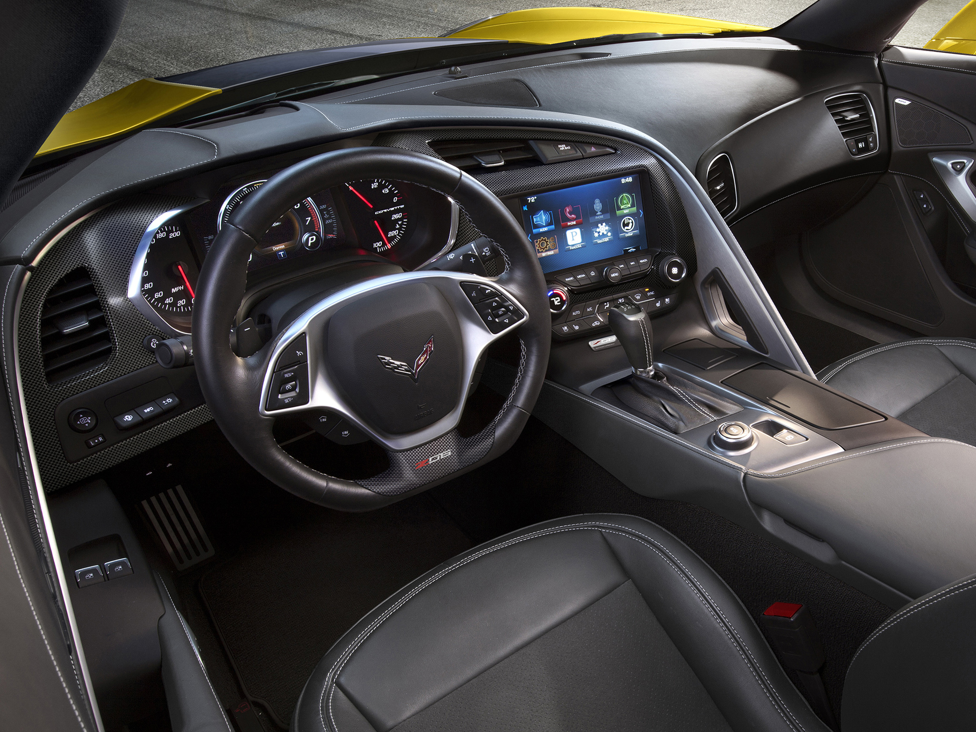 Chevrolet Corvette Z06 2015 - intérieur / interior - General Motors