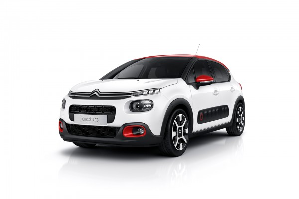 Citroen C3 2016 - front side-face / profil avant