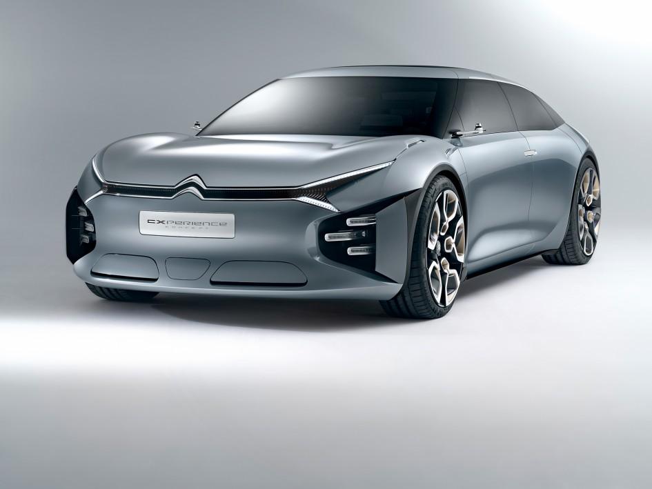 Citroën CXPERIENCE Concept - 2016 - profil avant / front side-face