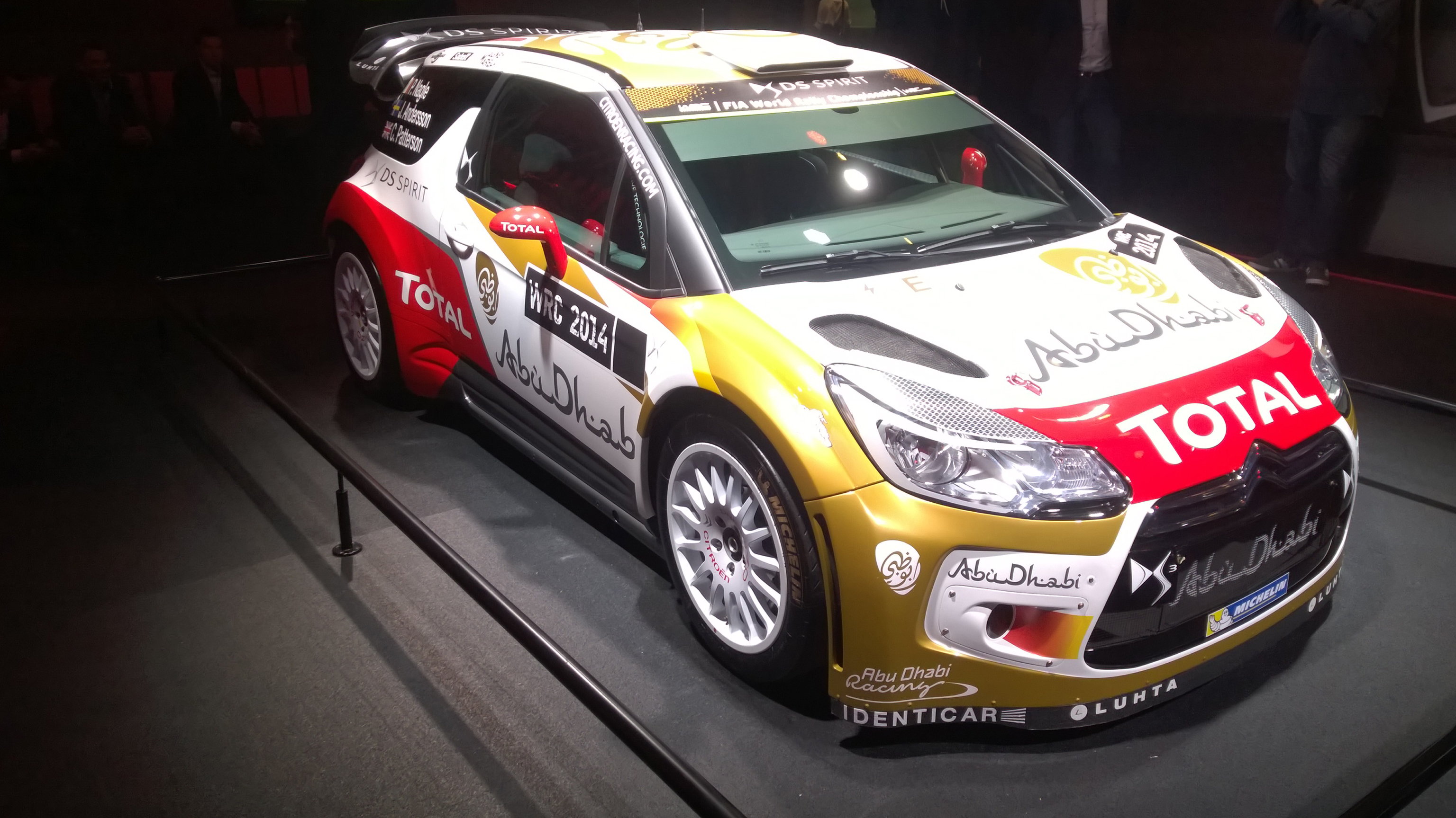 Citroën DS3 WRC - Paris 2014 - DESIGNMOTEUR