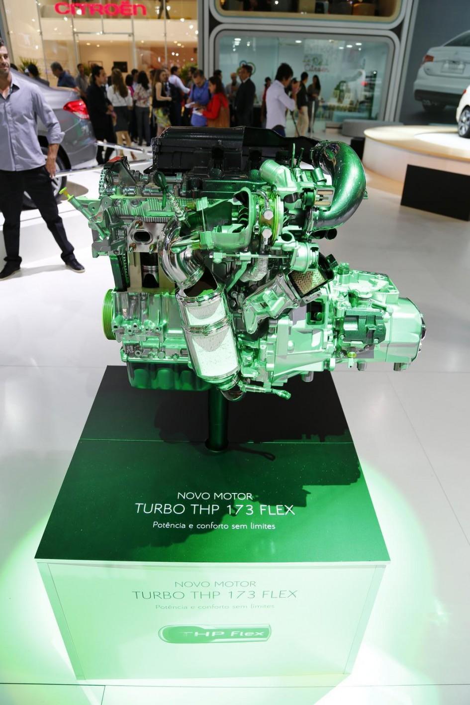 Citroën moteur THP Flex - Sao Paulo 2014
