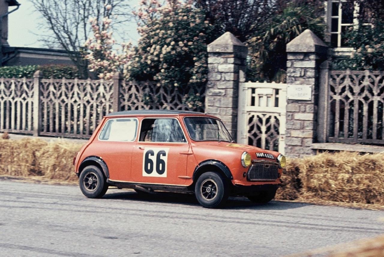 Cooper S - Rallyes Véhicules Historiques de Compétition - Photographie : Thierry Le Bras