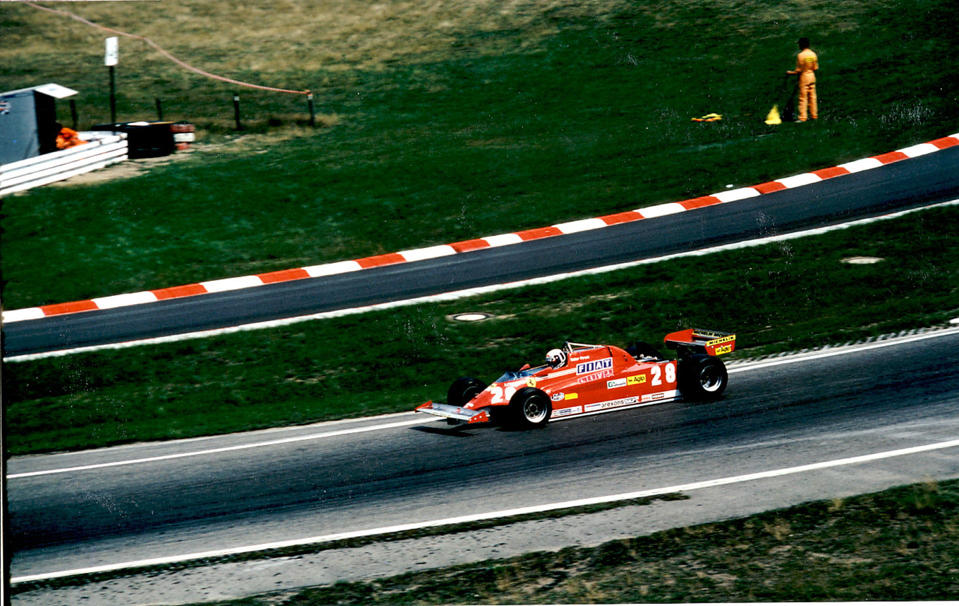 DIDIER PIRONI HOCKENHEIM 1981- Photo Thierry Le Bras