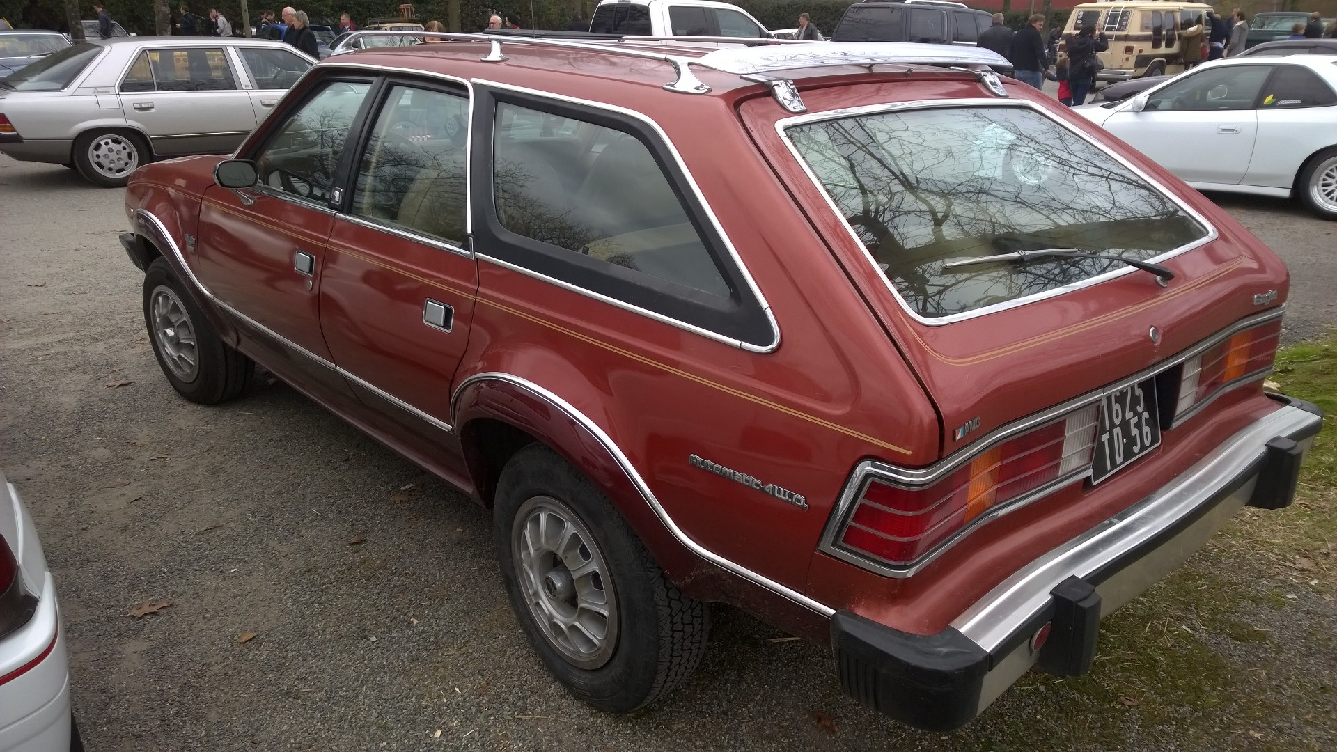 DM - photo - AMC Eagle 4WD - arriere / rear - Ouest Motors Festival 2015 Lorient