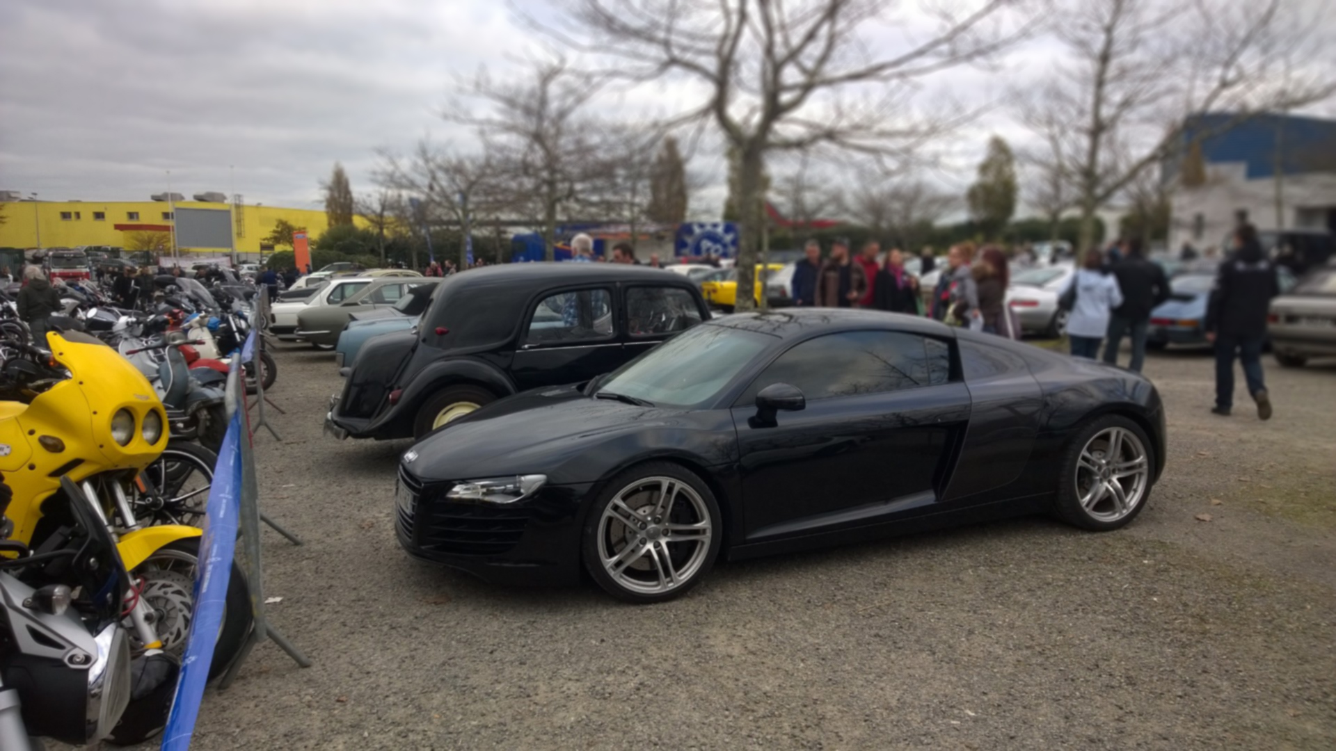 DM photo - Audi R8 - profil / side-face - Ouest Motors Festival - 2015 - Lorient